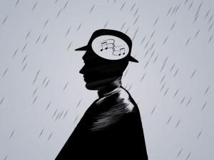 Musik gegen negative Gedanken